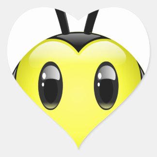 Dudu Bee do not have any idea Heart Sticker