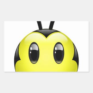 Dudu Bee do not have any idea Rectangular Sticker