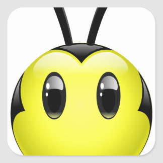 Dudu Bee do not have any idea Square Sticker