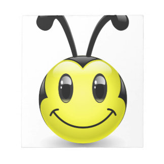 Dudu Bee Smiley Scratch Pads