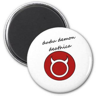 dudu demon fridge magnets
