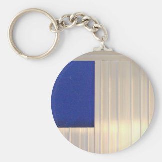 Due Collection metal by Roger Project Basic Round Button Keychain
