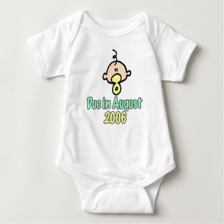 Due in August 2006 Baby Bodysuit