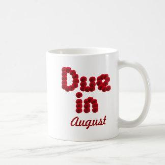 Due in August Mug