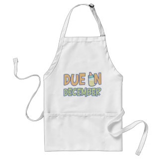 Due In December Adult Apron