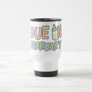 Due In February Travel Mug