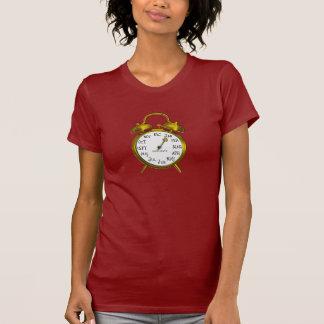 Due in January Gold Alarm Clock Maternity Shirt 1