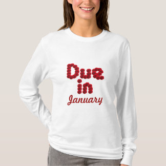 Due in January Long Sleeved Shirt