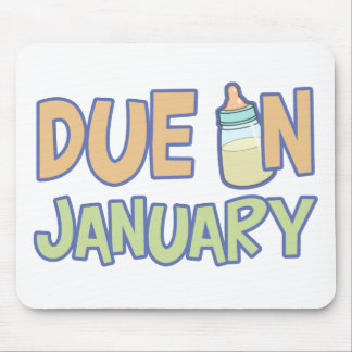 Due In January Mouse Pad