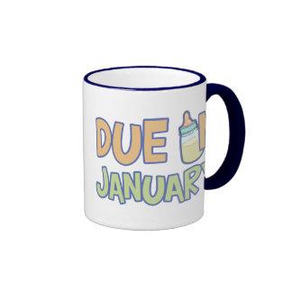 Due In January Mugs