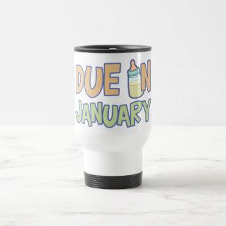 Due In January Travel Mug