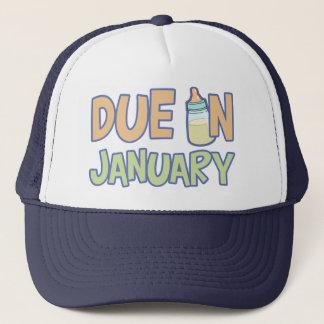 Due In January Trucker Hat