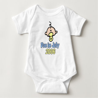 Due in July 2006 Baby Bodysuit