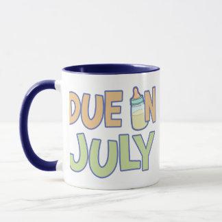 Due In July Mug
