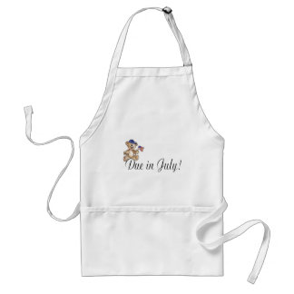 Due In July (Teddy) Apron