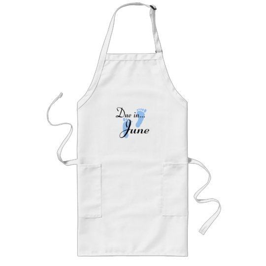 Due In June Long Apron