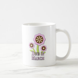 Due in March Expectant Mother Coffee Mug
