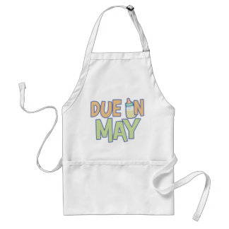 Due In May Adult Apron