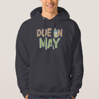 Due In May Hooded Pullover