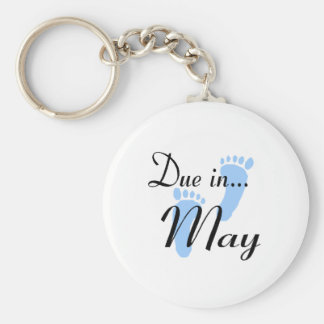 Due In May Key Chain