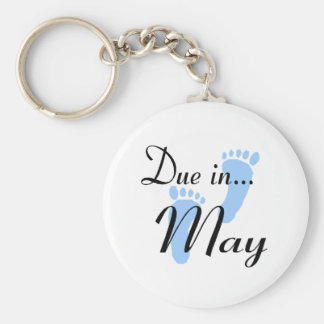 Due In May Keychains