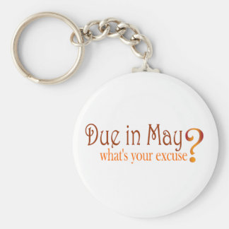 Due In May Key Chains