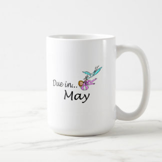 Due in May Classic White Coffee Mug