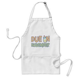 Due In November Adult Apron