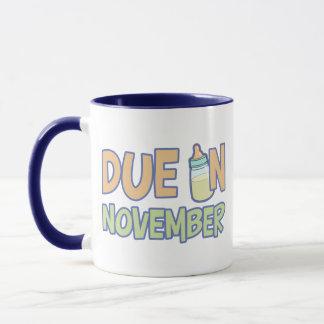 Due In November Mug