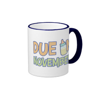 Due In November Coffee Mug