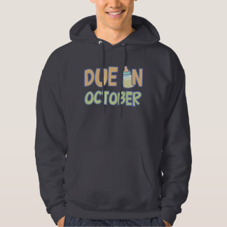 Due In October Hooded Pullover
