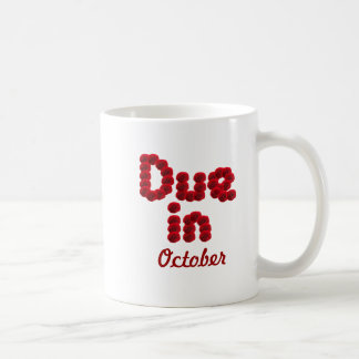 Due in October Mug