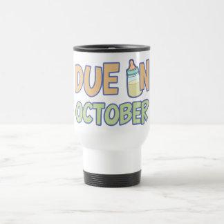 Due In October Travel Mug