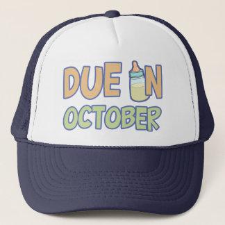 Due In October Trucker Hat