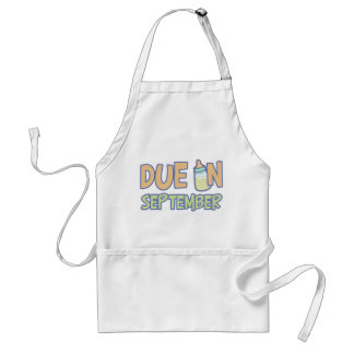 Due In September Adult Apron