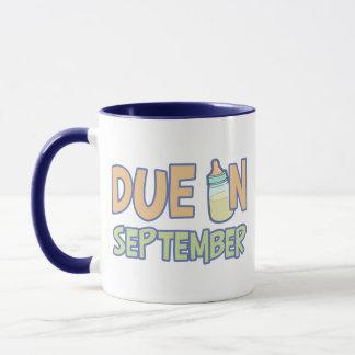 Due In September Mug