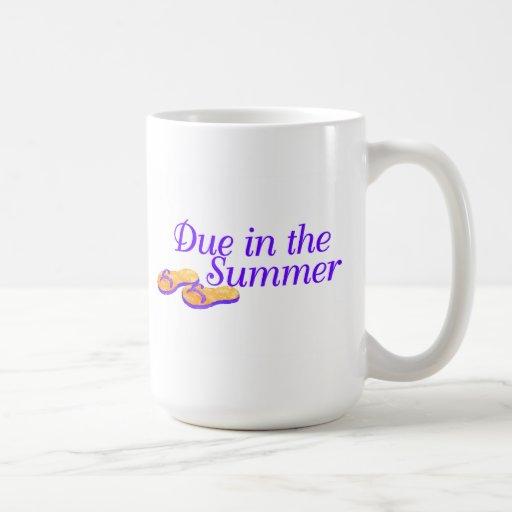 Due In Summer Coffee Mug