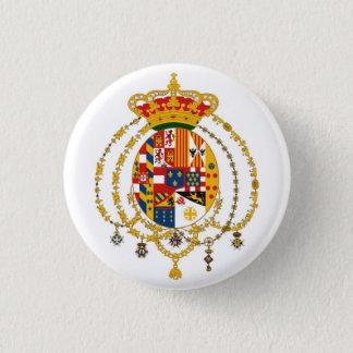 Due Sicilie Coat of Arms Pinback Button