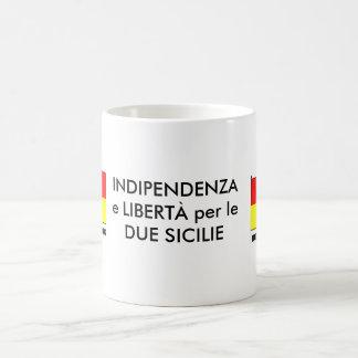 Due Sicilie Mug + Text (ITA)