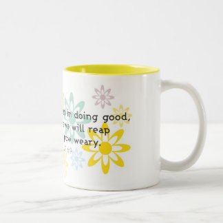 Due Time Two-Tone Coffee Mug