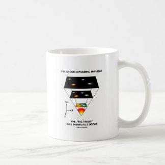 Due To Our Expanding Universe Big Freeze Occur Coffee Mug
