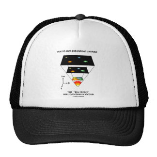 Due To Our Expanding Universe Big Freeze Occur Trucker Hat