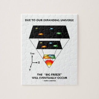 Due To Our Expanding Universe Big Freeze Occur Jigsaw Puzzles