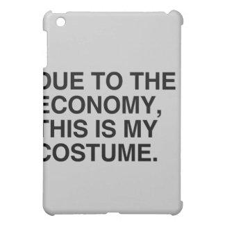 DUE TO THE ECONOMY THIS IS MY COSTUME iPad MINI CASES