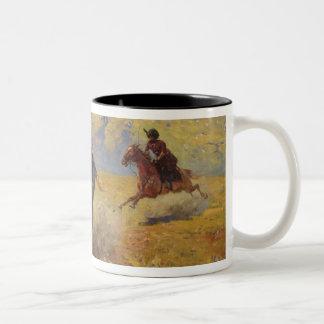 Duel, 1905 Two-Tone coffee mug