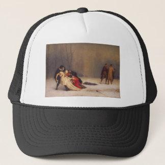 Duel After A Masquerade Ball Trucker Hat