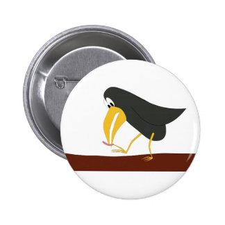 Duel - Bird and worm 2 Inch Round Button