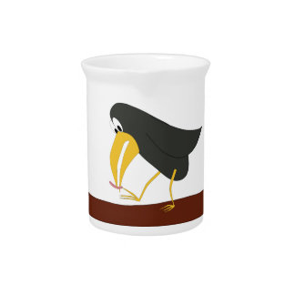 Duel - Bird and worm Drink Pitchers