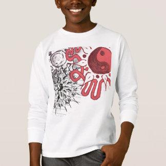 Duel power flower T-Shirt
