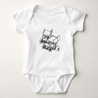 Duel Sprints Baby Bodysuit